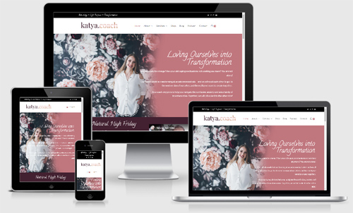 Website for Katya.Coach